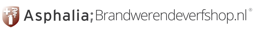 Brandwerende verfshop